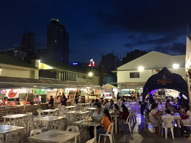 Night food market, Mango Ave, Cebu City