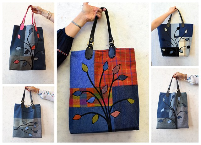Twin Needling (Denim Applique Bag) class