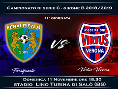 FeralpiSalò - Virtus Verona 1-1 FINALE