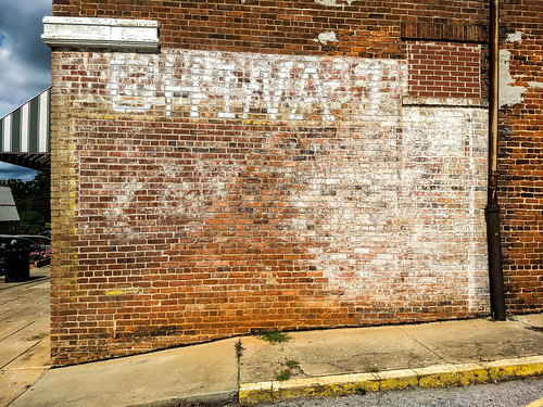 Whitmire ghost sign