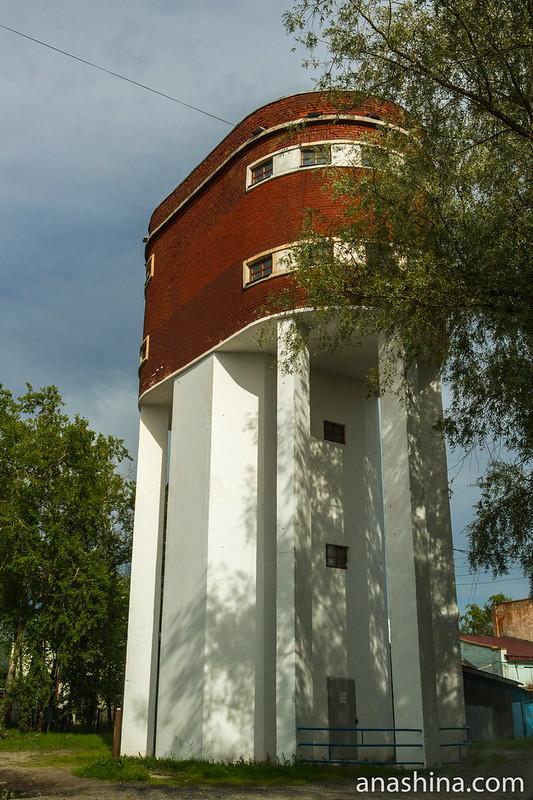 Водонапорная башня, Сортавала, Карелия