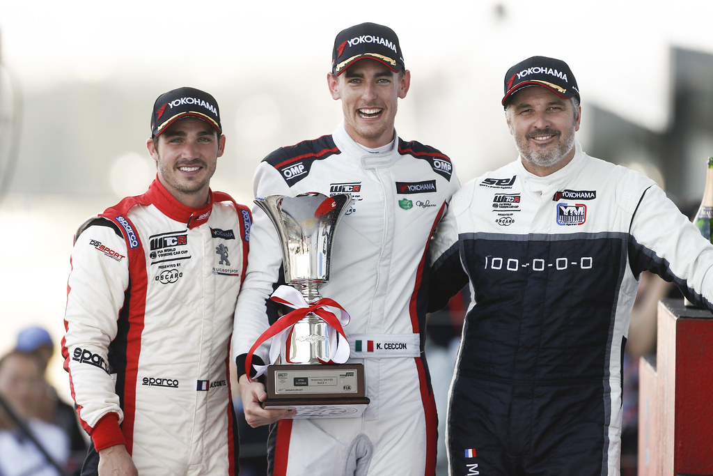 COMTE Aurelien, (fra),  eugeot 308 TCR team DG Sport Competition, portrait CECCON Kevin (ITA), Alfa Romeo Giulietta TCR, Mulsanne Srl, portrait MULLER Yvan, (fra), Hyundai i30 N TCR team Yvan Muller Racing, portrait during the 2018 FIA WTCR World Touring Car cup of Japan, at Suzuka from october 26 to 28 - Photo Francois Flamand / DPPI