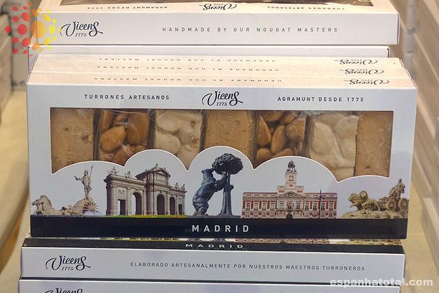 onde comprar turrón em Madri
