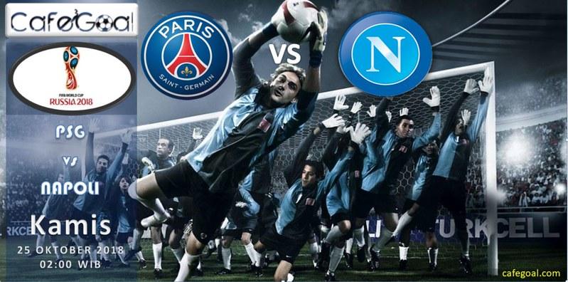 Prediksi Agen Judi Bola Paris Saint Germain vs Napoli, hari Kamis, 25 Oktober 2018