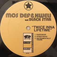 MOS DEF & TALIB KWELI ARE BLACK STAR:DEFINITION(LABEL SIDE-B)