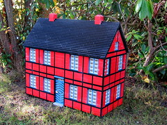 Glued house out of Legoland Sierksdorf - cleaned