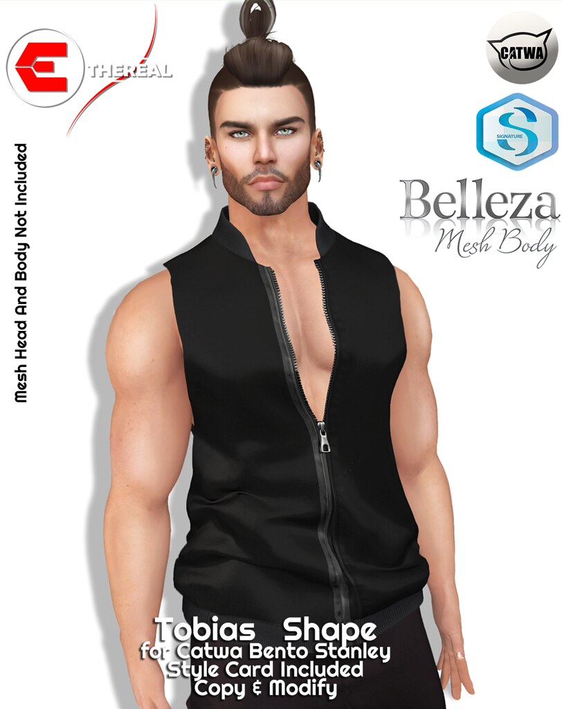 Tobias Shape - Bento Catwa Stanley - TeleportHub.com Live!