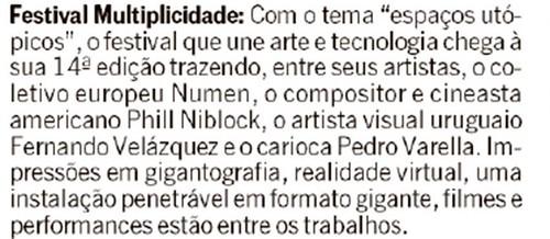 Informativo O Globo