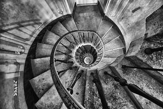 Staircase at Vizcaya in Miami, Florida