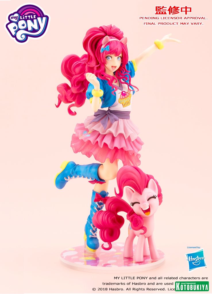 (Updated) Kotobukiya My Little Pony BISHOUJO Pinkie Pie Painted Prototype!