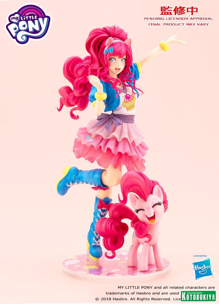 【更新官圖&販售資訊】壽屋《彩虹小馬》MY LITTLE PONY美少女 第一彈 碧琪(ピンキーパイ;Pinkie Pie)