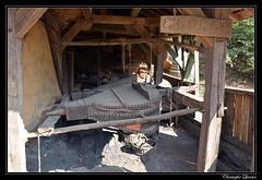 Chantier médiéval de Guédelon - la forge