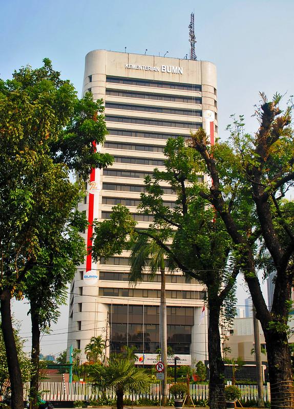 Gedung Kementerian BUMN