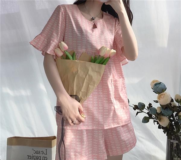Mẫu đồ bộ may mặc ở nhà tôn vinh phái đẹp