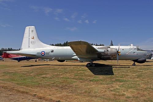Canadian Air Force Canadair CP-107 Argus Mk I 10712 YQQ 06-09-18