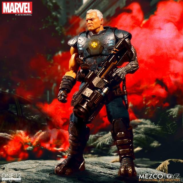 現在與未來之間的聯繫,超強的變種人戰士參戰!! MEZCO ONE:12 COLLECTIVE 系列 Marvel【機堡】Cable 1/12 比例人偶作品