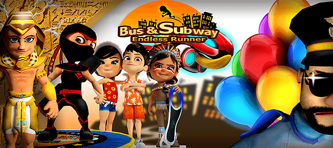 Bus & Subway Endless runner with Multiplayer