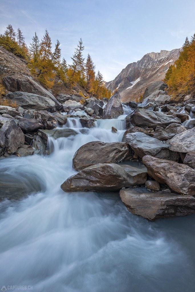 Waterfall - Lötschental
