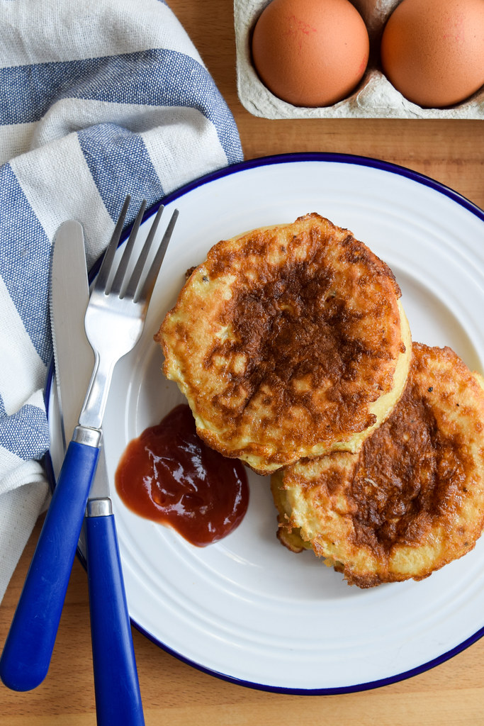 Eggy Bread Crumpets