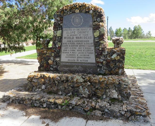 Slope County WWI Monument (Amidon, North Dakota)