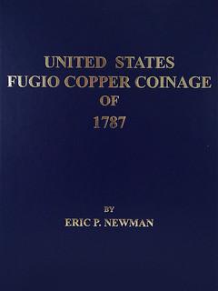 Newman U,S, Fugio Copper coinage cover