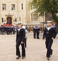 50th anniversary of the Royal Fusiliers at the Tower of London