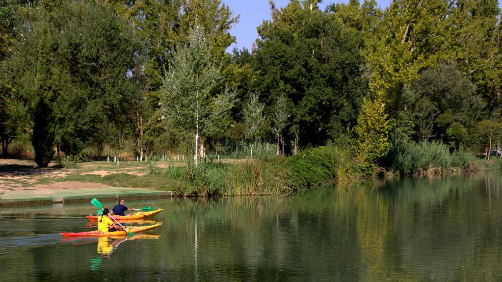 En el río Tajo