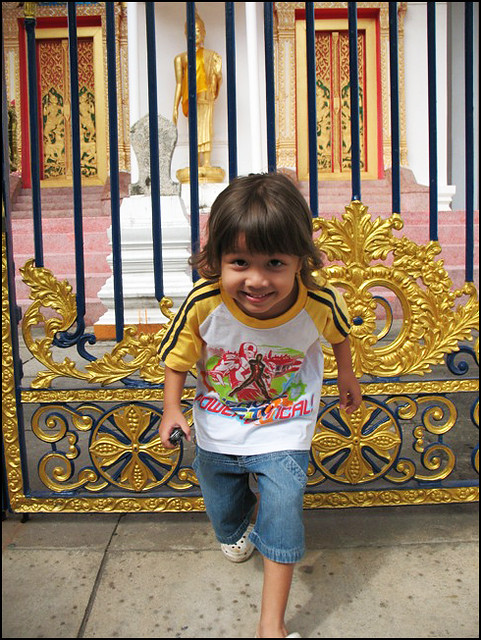 My Boy at Wat Mongkhon Nimit