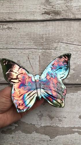 Raku butterflies