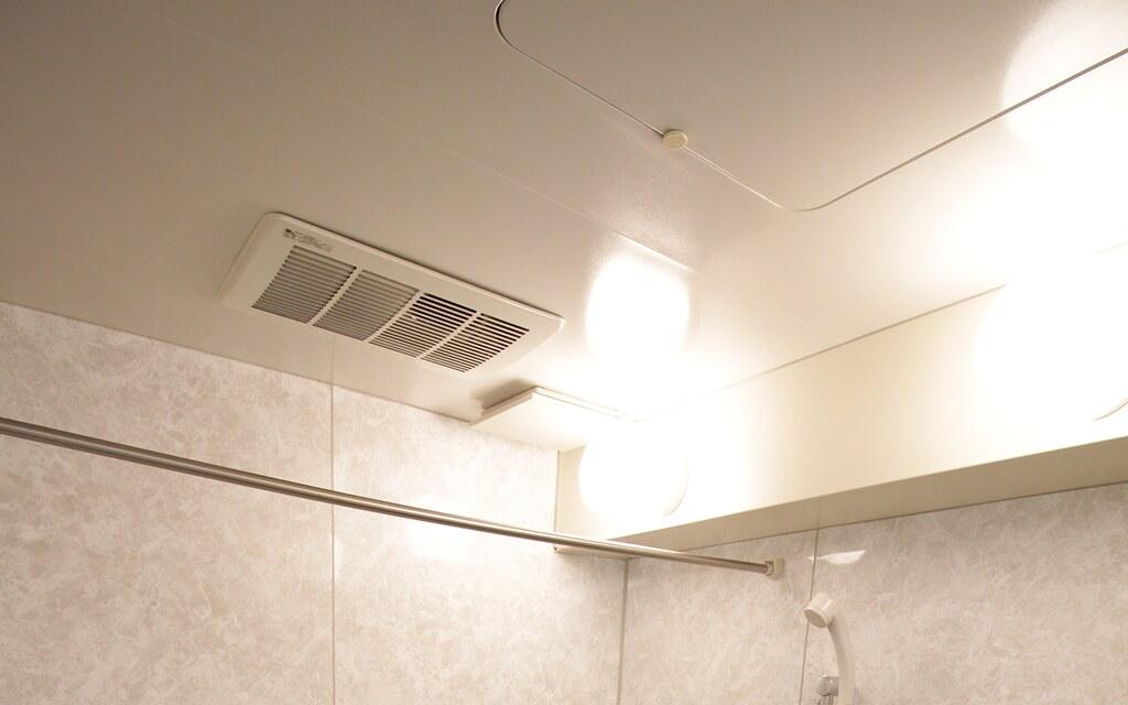 バスルーム天井部分