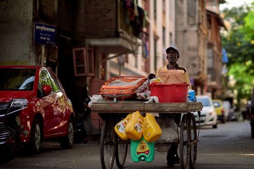 2018 India, Pune, shop on wheels