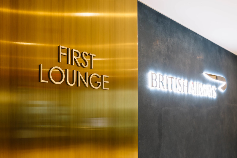 British Airways New York JFK First Lounge