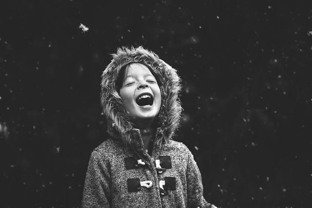 First snow fall!, Nikon D750, AF Nikkor 50mm f/1.8