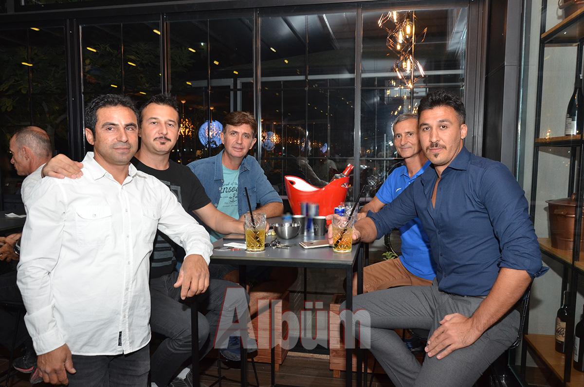 Ömer Sarız, Ender Akça, Nihat Özbek, Yüksel Kılınç, Meısan Shafaghi