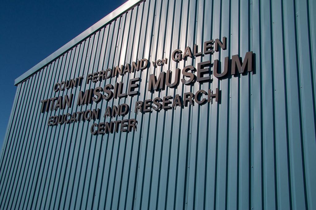 Exterior of Titan Missile Museum