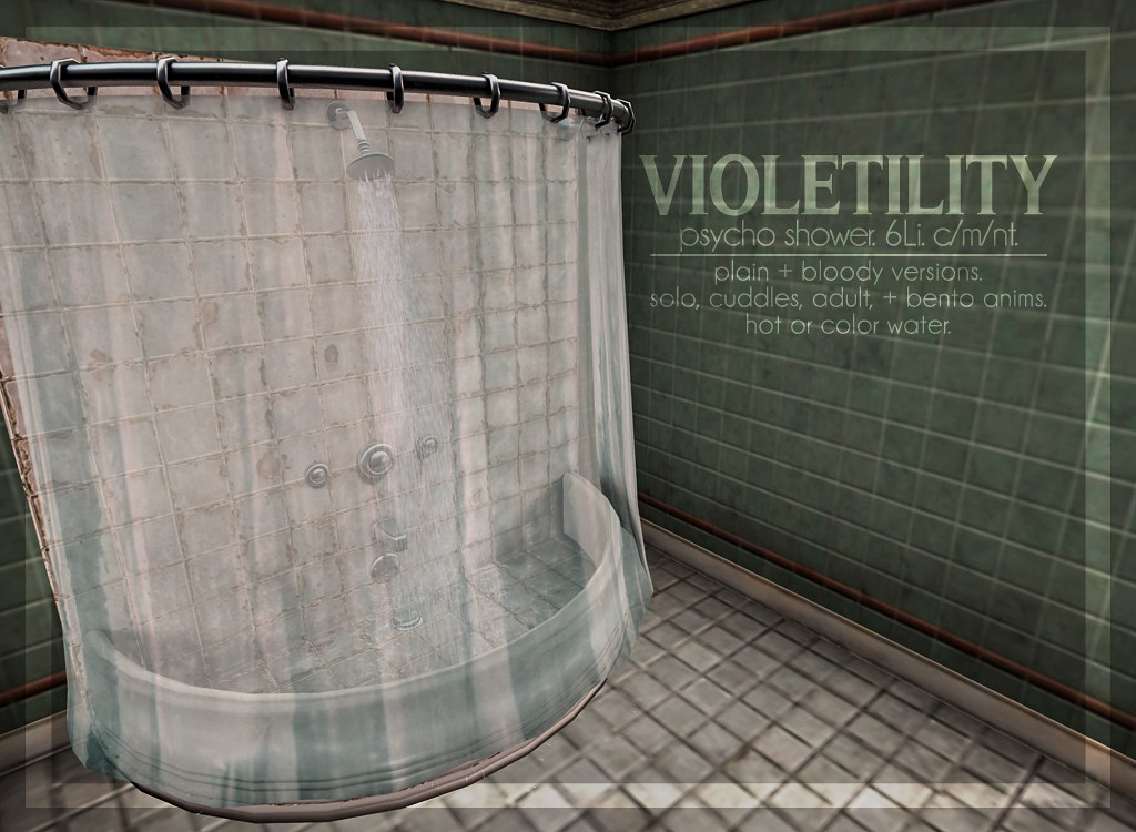 Violetility – Psycho Shower