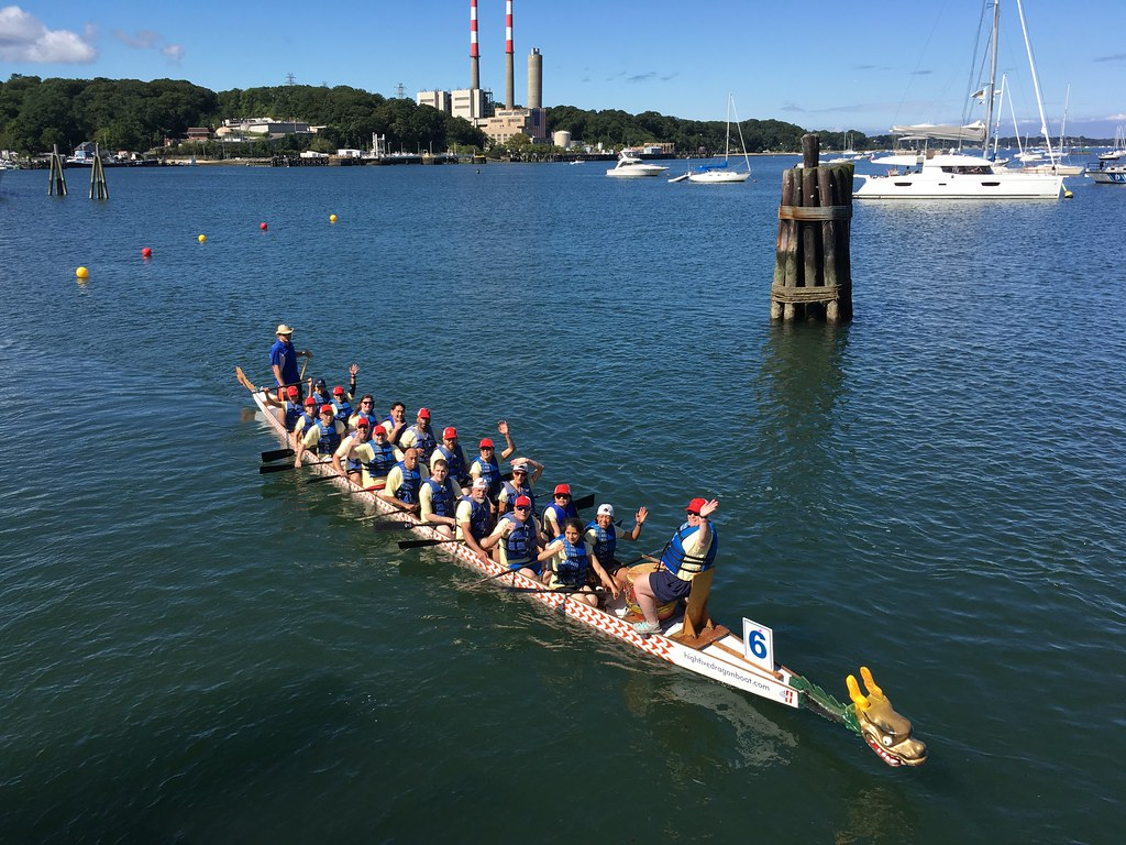 BNLers Race in 2018 Dragon Boat Festival