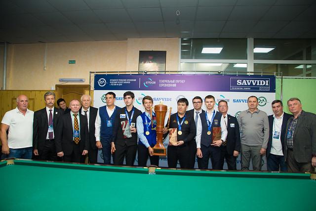 Финальные дни международного турнира на прз почетного президента ФБС ЮФО Ивана Саввиди 2018