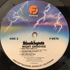 THE BLACKBYRDS:NIGHT GROOVES(LABEL SIDE-B)