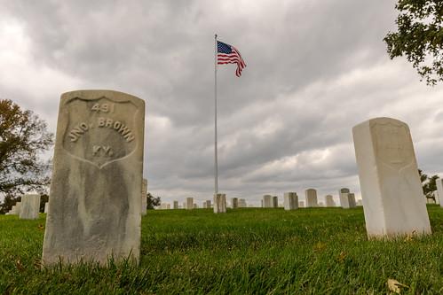 civilwar kentucky millspringbattlefield milllspringnationalcemetary pulaskicounty gravestone