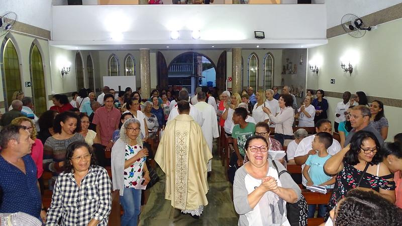Missa de Acolhida de Pe. Jaime na Capelania Stella Maris