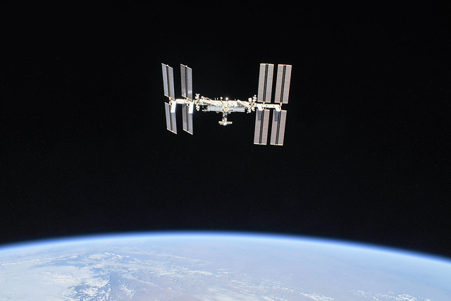 The International Space Station as of Oct. 4, 2018