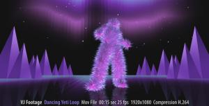 dancing yeti
