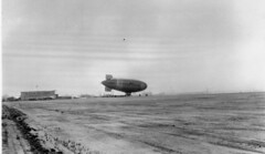 good year blimp lindbergh field san diego 1932