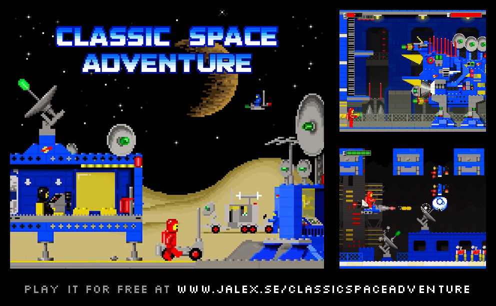 Classic Space Adventure - A New Webgame