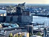 """Views of Hamburg City - View from the Michel """"Elphi"""""""