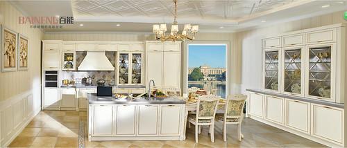 European kitchen cabinet