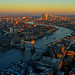 LONDON VIEW FROM THE SHARD by GA High Quality Photography