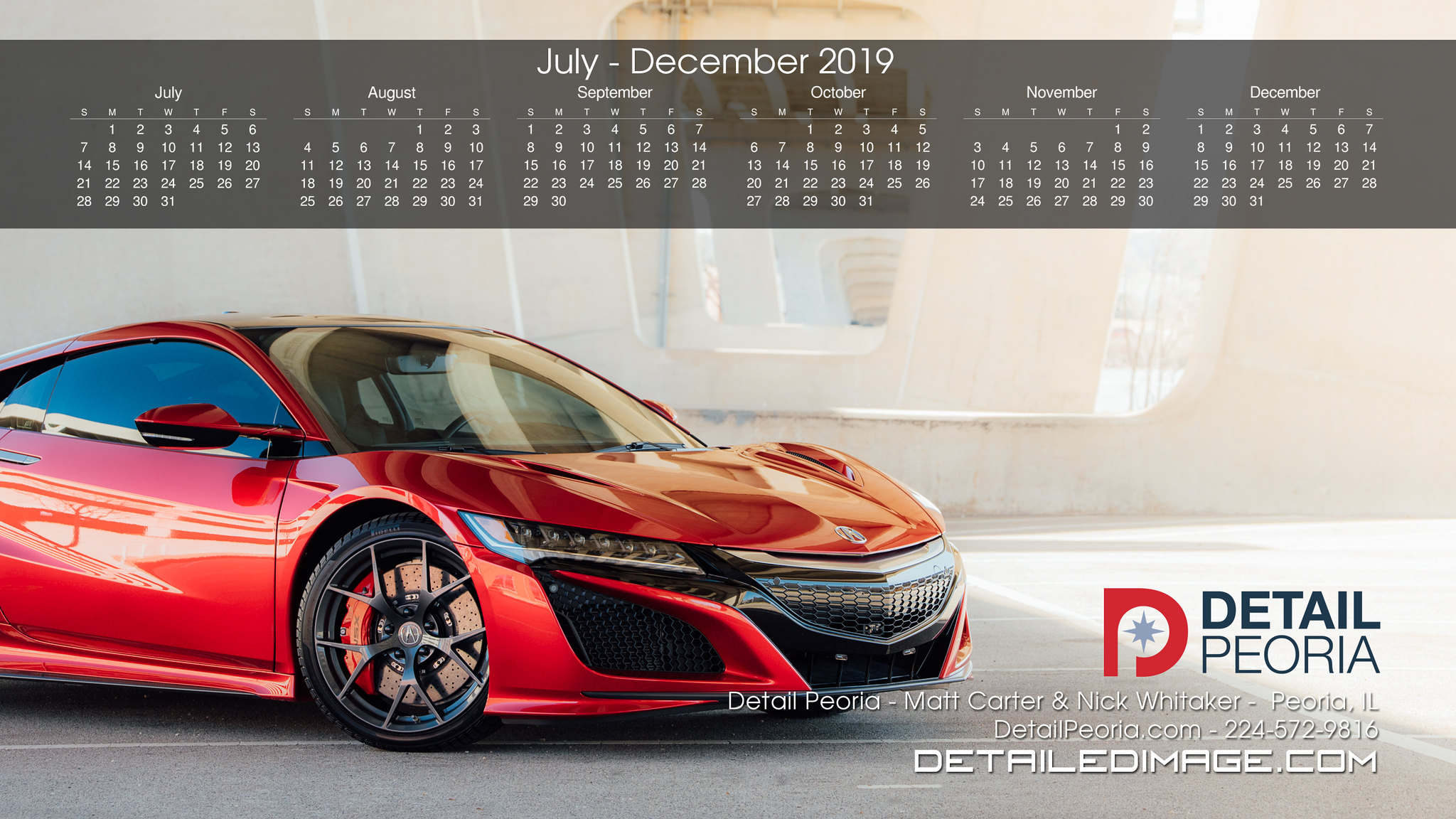 detailing calendars and wallpaper detailed image