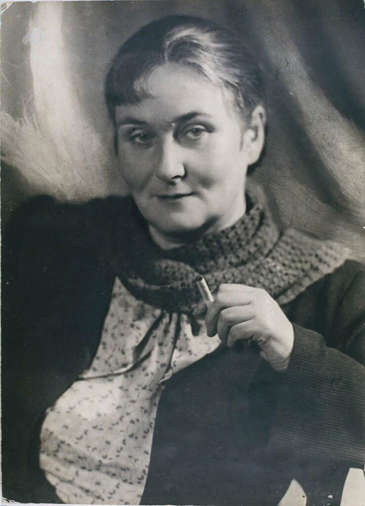 Скульптор Сарра Дмитриевна Лебедева. 1930-е